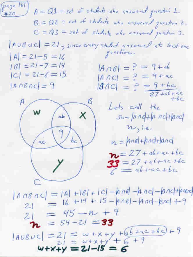 Set Operations Using Venn Diagram Quiz Diagram