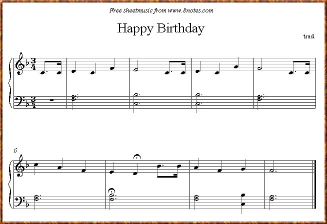 Music and NetLogo - Happy Birthday song - 810:025 - November 18th, 2009