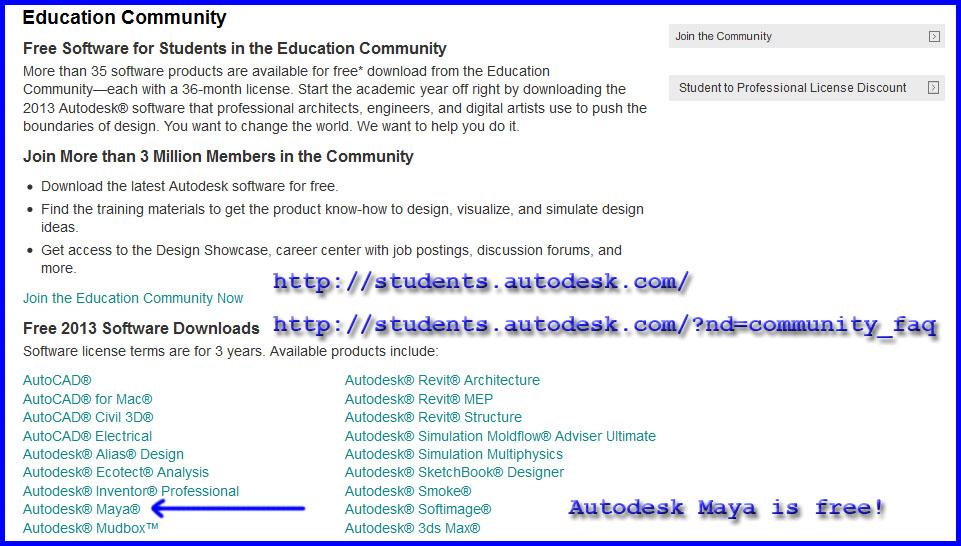 maya 2008 software free  full version