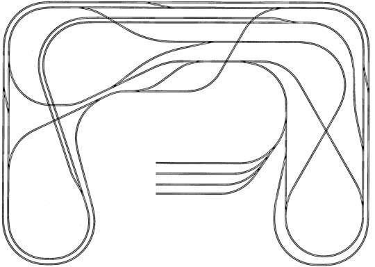 diagrams of train layouts