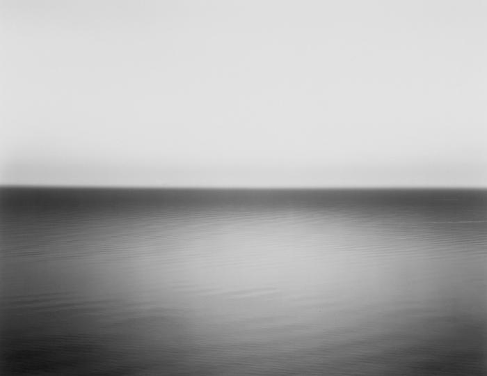 One Hiroshi Sugimoto's seascape photographs