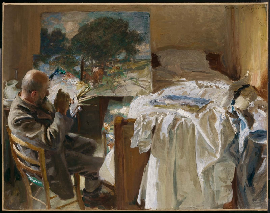 An Artist in His Studio, by John Singer Sargent, 1904