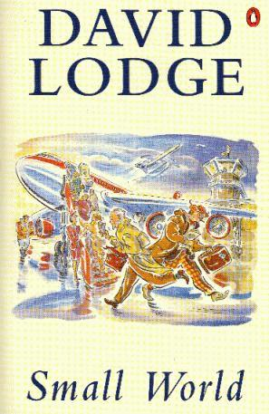the cover of David Lodge's 'Small World'