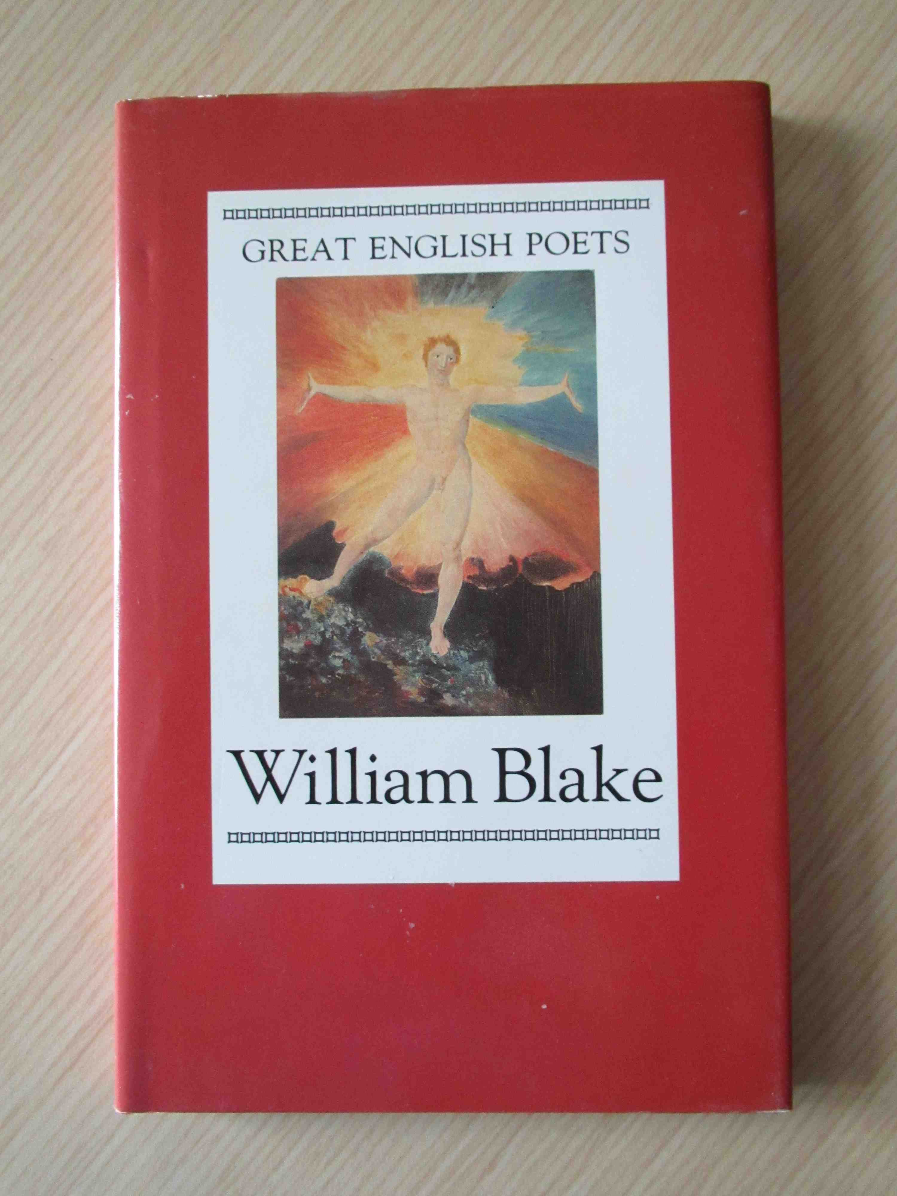 a thin volume of William Blake
