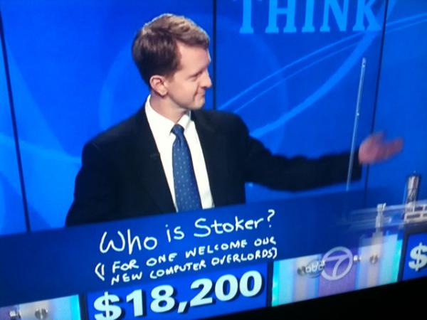 Jeopardy! champ Ken Jennings passes the baton to Watson