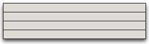 design as a long horizontal stripe