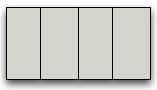 design as a thin vertical stripe