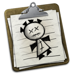 the icon for VoodooPad