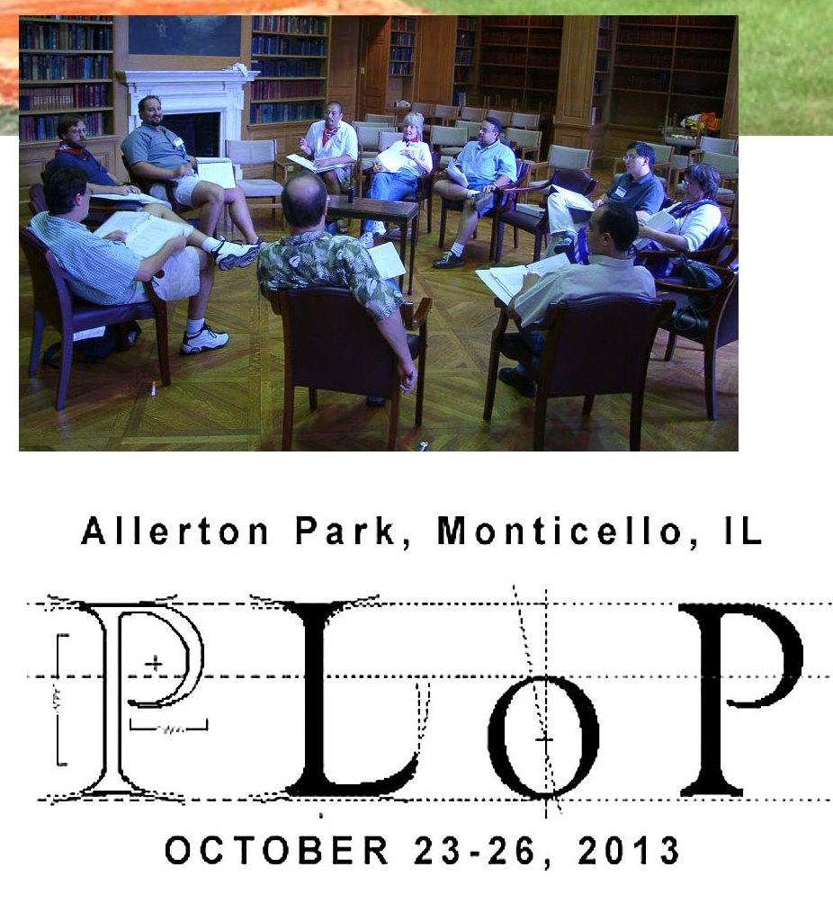 the PLoP 2013 logo