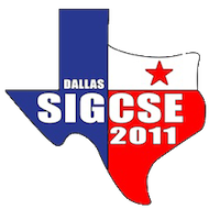 SIGCSE 2011 in Dallas, Texas