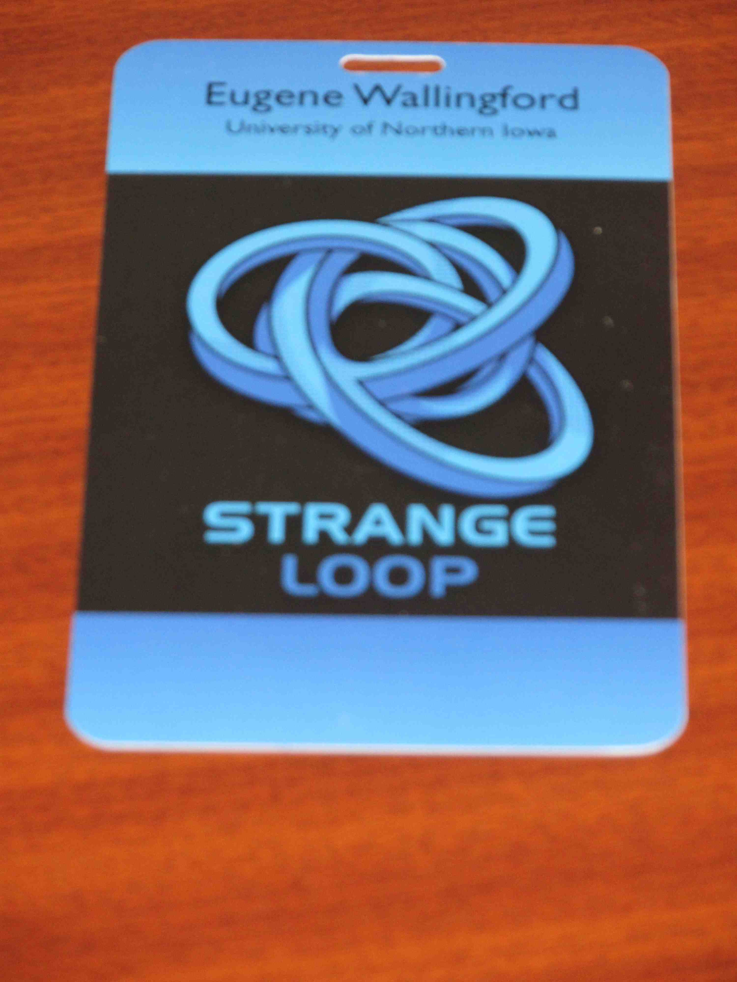 my StrangeLoop 2012 conference badge