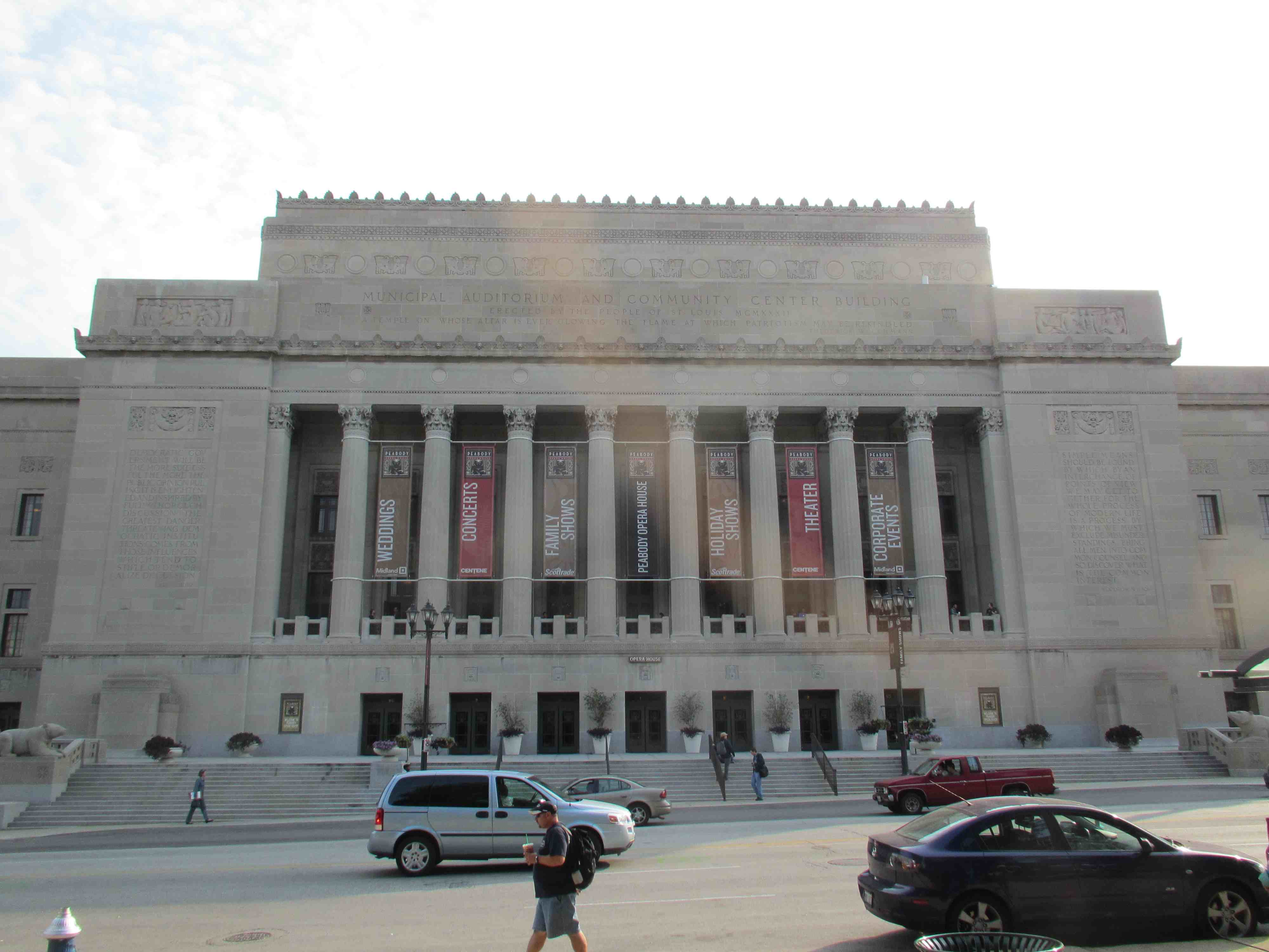 the Peabody Opera House
