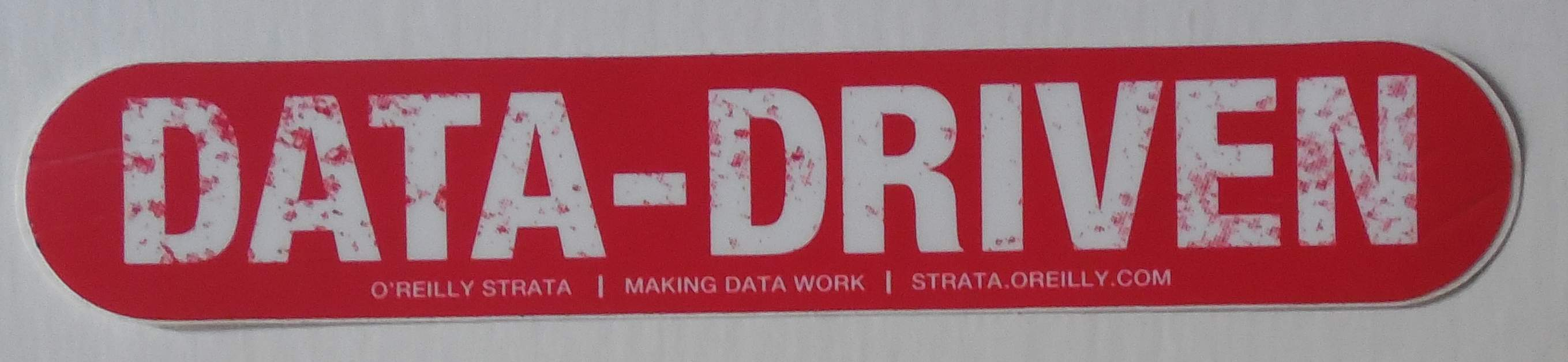 O'Reilly laptop sticker