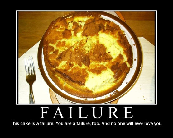the failure cake