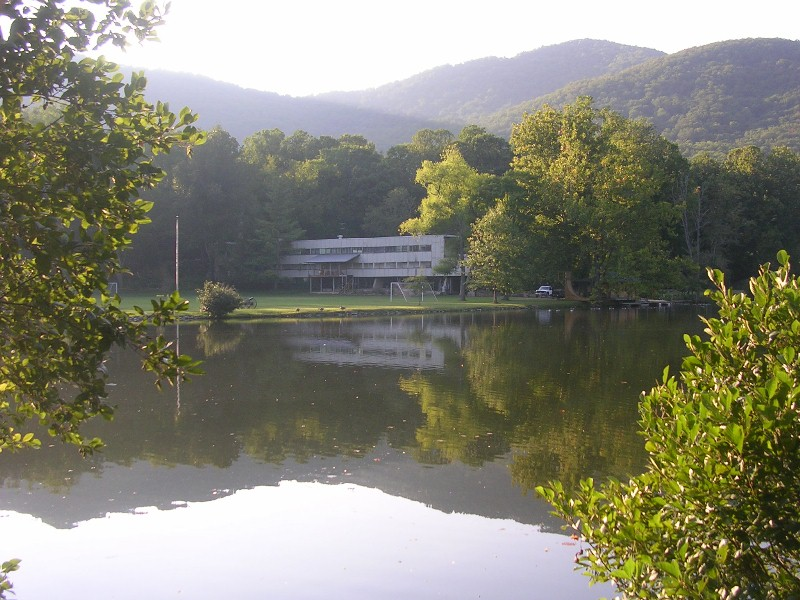 Black Mountain College's Lake Eden campus