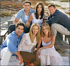 The Gang from 'Friends'