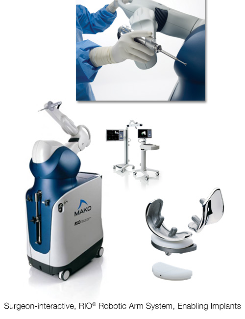 the equipment for a makoplasty