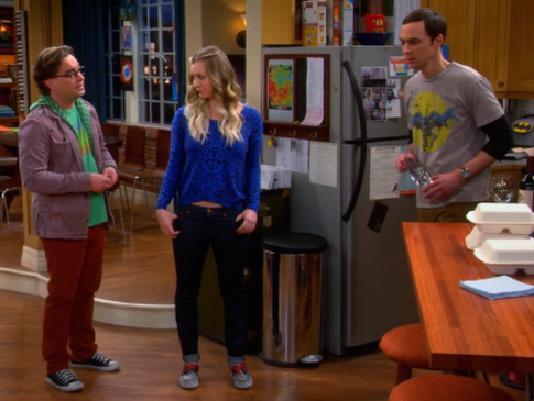 Sheldon reminds Leonard that he never really had a personality, on The Bib Bang Theory