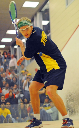 Gustav Detter, a 2009 Trinity College squash player