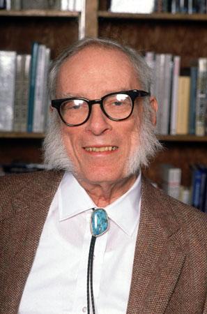 Isaac Asimov, circa 1991