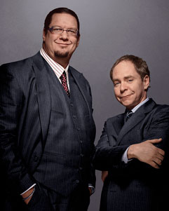 the magician due of Penn and Teller