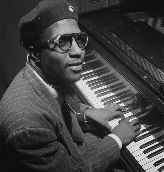 Thelonious Monk at the piano