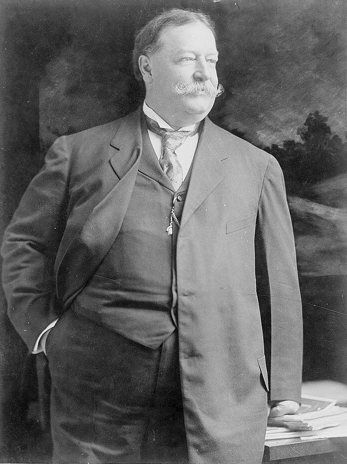 William Howard Taft, a president of girth