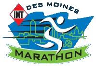 2010 Des Moines Marathon logo