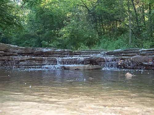 water at Hueston Woods State Park