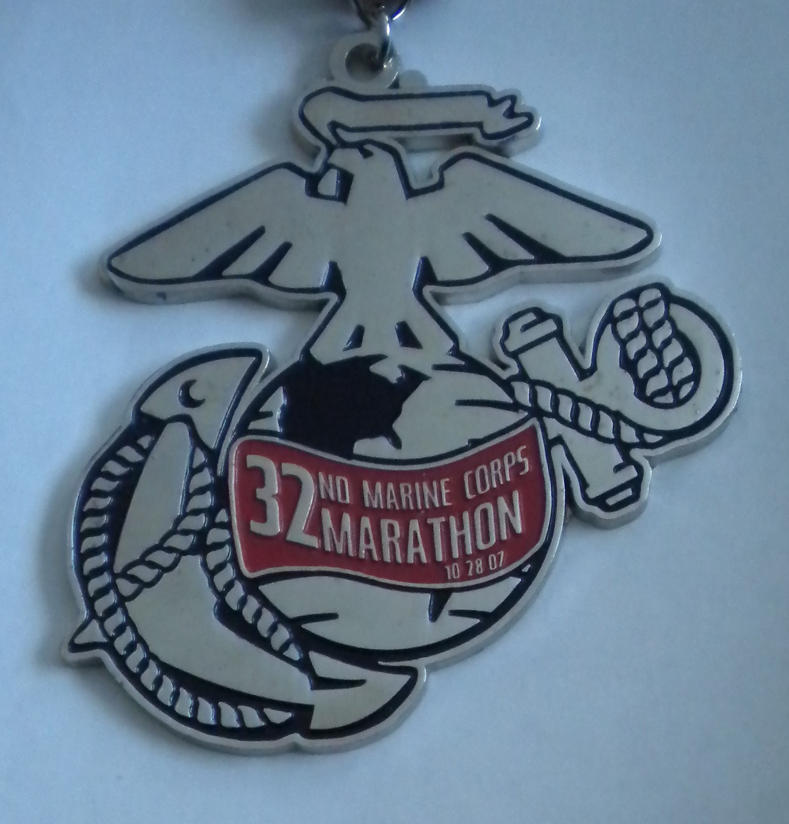 2007 Marine Corps Marathon -- Semper Fidelis