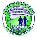 Sturgis Falls Half Marathon logo